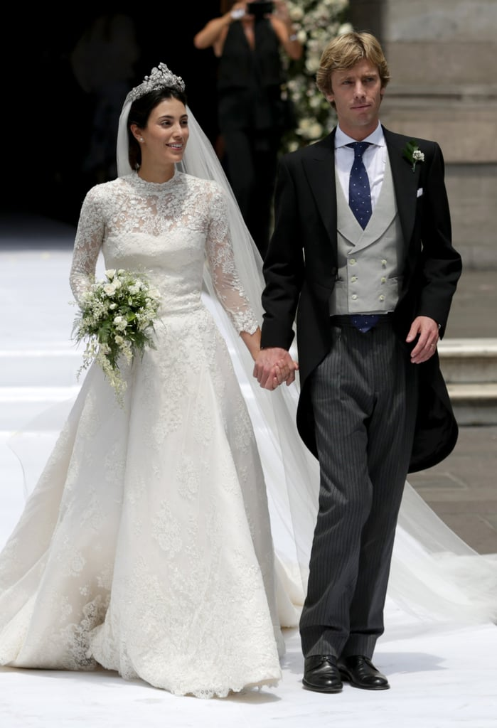 This Bride's Royal Wedding Dress Is Something Straight Out of a Fairy Tale Book