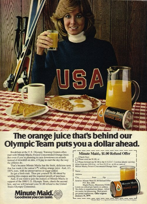 Celebrate Sochi With Women in Sporty Vintage Ads