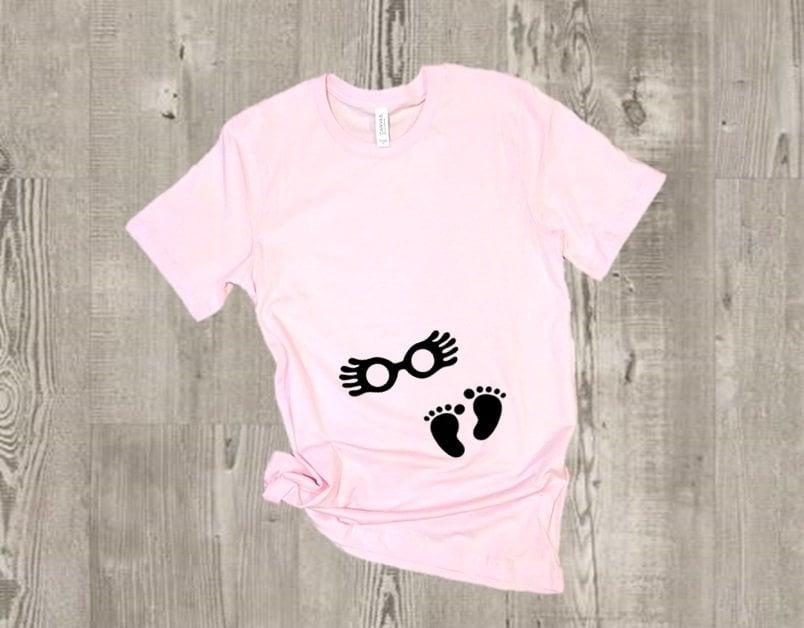 Luna Lovegood Glasses Maternity Shirt