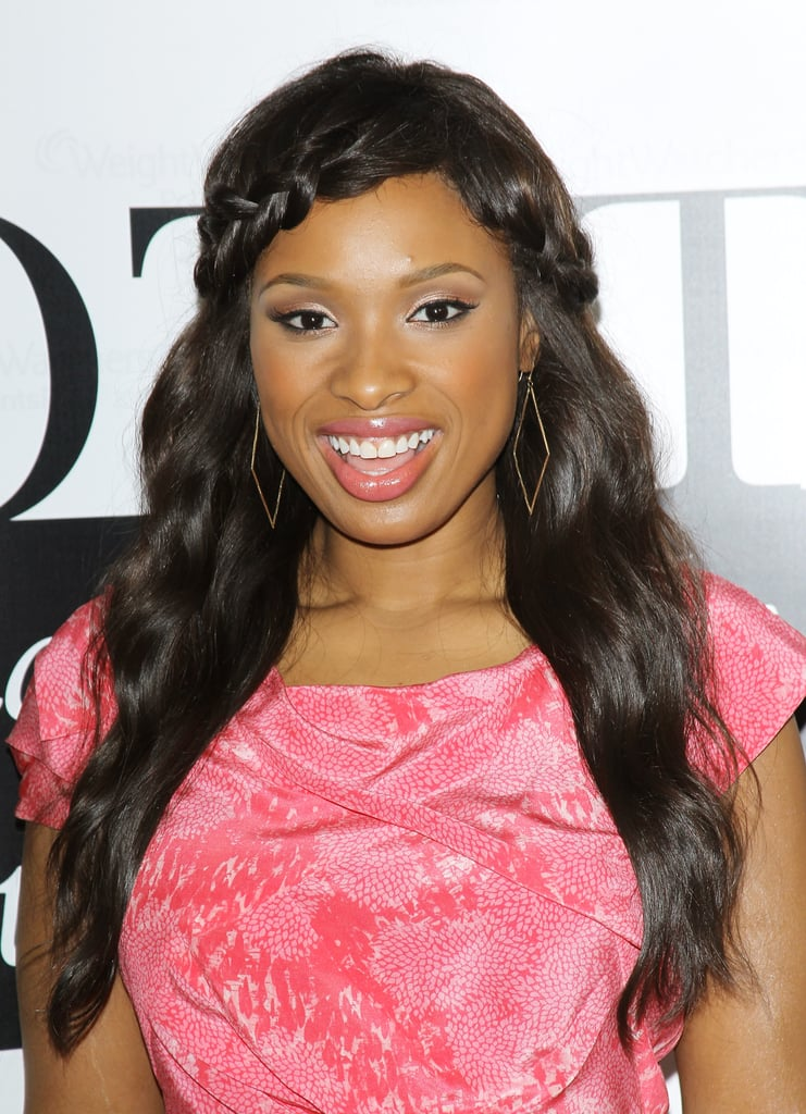 We love Jennifer Hudson's take on the headband braid.