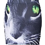 This cat face skirt ($23) is creepy slash awesome.