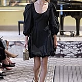 Puffy Sleeves on the Brock Collection Runway at New York Fashion Week