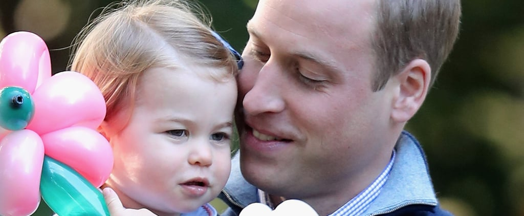 Prince William's Sweetest Moments With Princess Charlotte