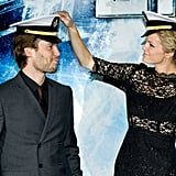 Brooklyn Decker and Taylor Kitsch premiered Battleship.
