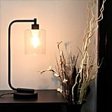 Simple Designs Industrial Iron Desk Lantern Lamp