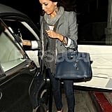 Pictures of Eva Longoria Leaving Beso With Her Parents