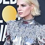 Lucy Boynton at Golden Globes 2020