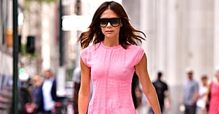 Victoria Beckham's Pepto Bismol Pink Dress Is JUST What the Doctor Ordered