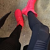 But She Also Owns Rihanna's Fenty x Puma Trainers