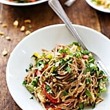Soba Noodle Salad With Spicy Peanut Sauce and Chicken
