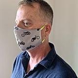 Motos Grey Face Mask