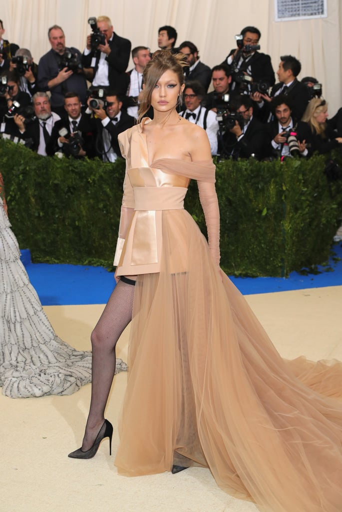 f433161a05f I wonder if coming on the heels of her final Gigi x Tommy fashion show back  in February if Gigi will wear one more Tommy Hilfiger gown on the Met Gala  ...