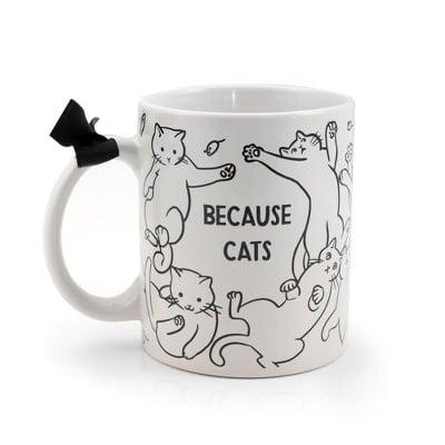 Underground Toys Because Cats Coffee Mug