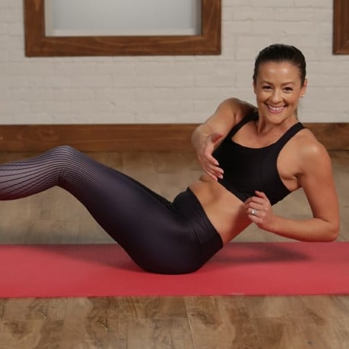 Flat Belly Video Workout Program For Charity
