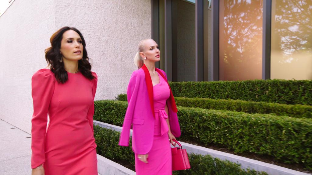 Shop Selling Sunset Season 3: Christine's MSGM Blazer and Davina's Black Halo Dress