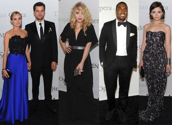 MK, Kanye, Josh, & Diane Celebrate an NYC Opera Anniversary