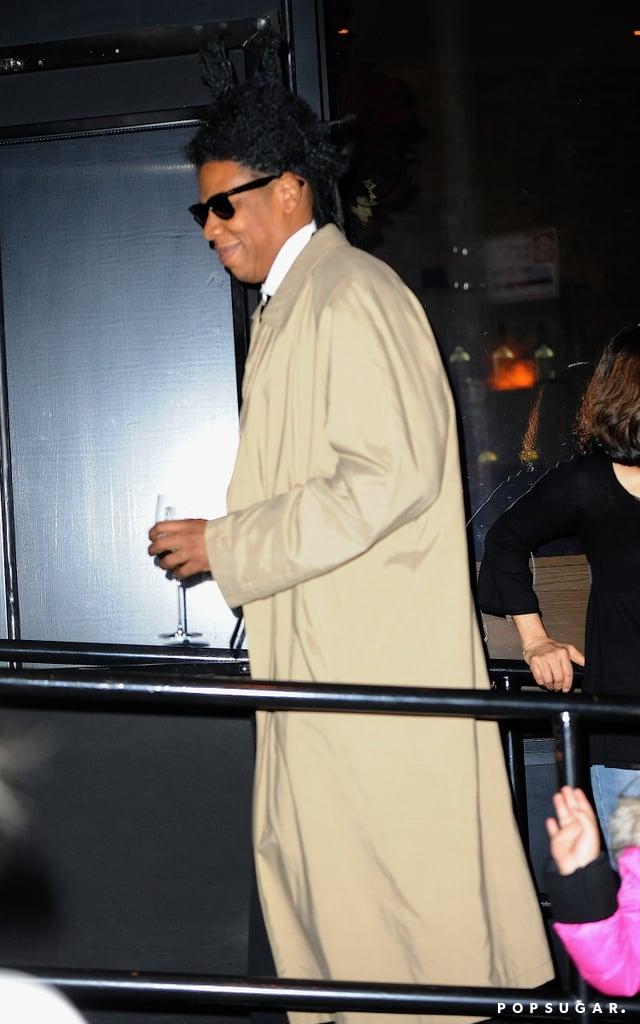 Jay Z as Jean-Michel Basquiat