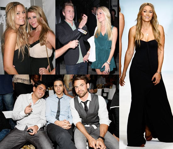 Photos of Lauren Conrad's Spring 2009 Fashion Line, Lauren Conrad and Heidi Montag Reunion