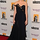 Michelle Williams walked the red carpet at the Hollywood Film Awards Gala.