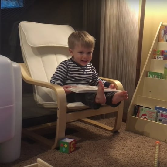 Dad Tracks Son's First Words Since Birth