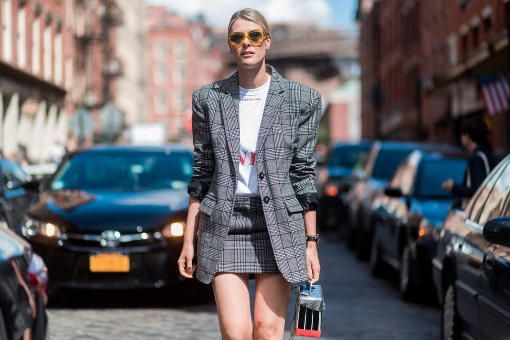 Checked Blazers Are the Fall Trend You've Been Seeing Everywhere