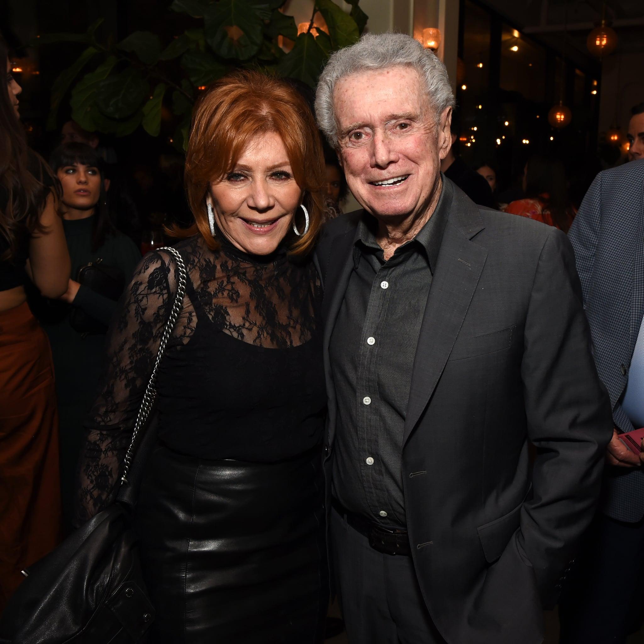 LOS ANGELES, CALIFORNIA - FEBRUARY 27: (L-R) Joy Philbin and Regis Philbin attend the LA screening of