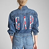 Gap Oversize Logo Icon Denim Jacket
