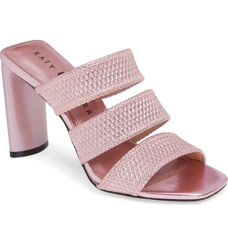 Katy Perry Cali Quilted Strap Sandals