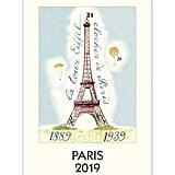 Cavallini & Co Paris Calendar 2019