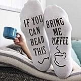 """""""Bring Me Coffee"""" Socks"""
