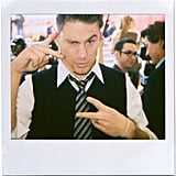 Channing Tatum got silly at the 2007 Independent Spirit Awards in LA.