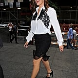 Jennifer Garner arrived at the NYC screening of The Odd Life of Timothy Green.