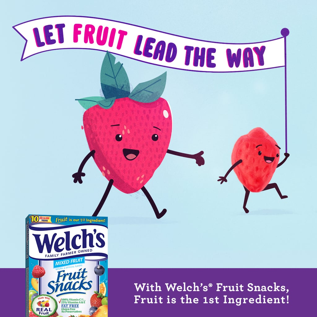 More From Welch's<small>®</small> Fruit Snacks