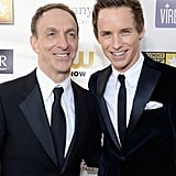 Mychael Danna and Eddie Redmayne snapped a photo together.