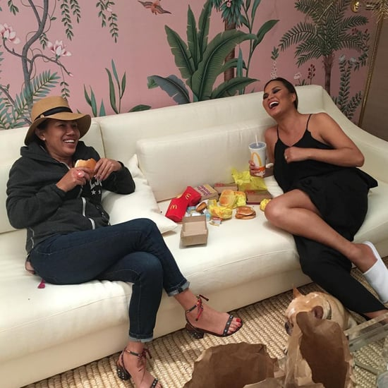 Why Chrissy Teigen Loves Living With Her Mom