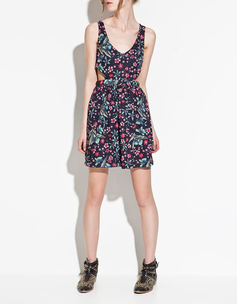 The perfect mix of sweet and sexy.  Zara TRF Open-Waist Dress ($50)