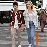 Sophie Turner and Joe Jonas in Paris