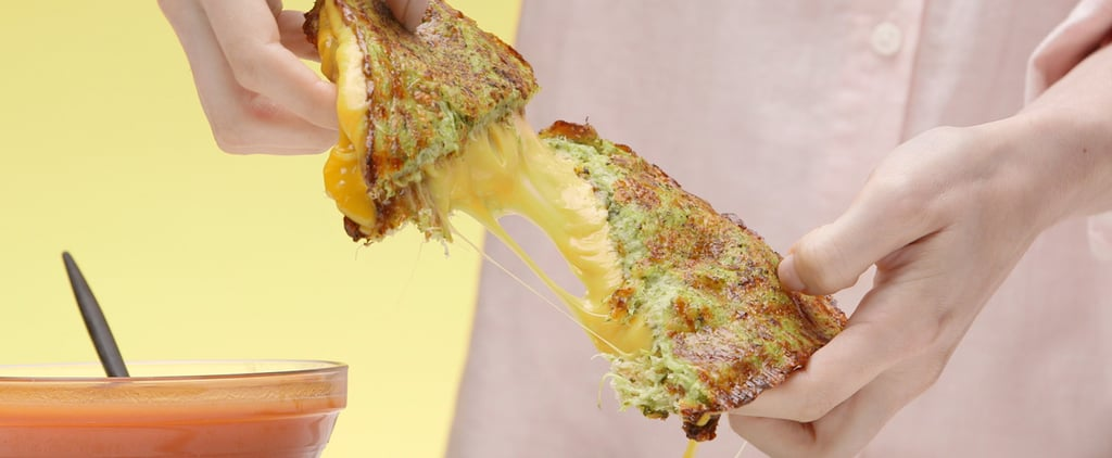 Skip the Bread and Enjoy This Courgette Grilled Cheese