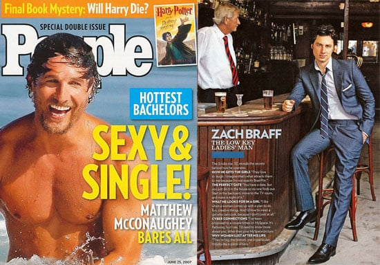 People Reveals The Hottest Bachelors of 2007