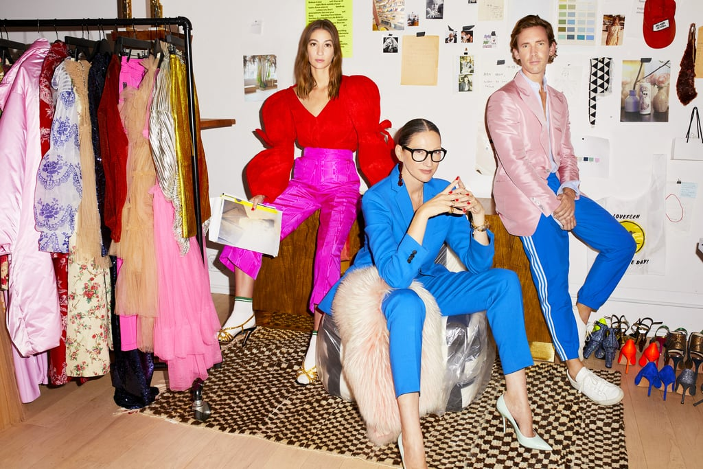 POPSUGAR: You ask your interviewees to put together an outfit because you say it's similar to how they'd style a room. If your living room were an outfit, what would you be wearing? Jenna Lyons: My son is here listening and he says my Drake's silk pajama top, vintage army pants, maybe a touch of leopard, and a hint of gold. PS: During the show, we get to watch you build your brand and test creative associates who work with you — what advice would you give to someone who wants to start their own fashion venture? And what's the most important quality you're looking for in a candidate you work with? JL: Only go into fashion if you are obsessed. I remember distinctly talking to some young students about fashion and I asked them what their favorite era was, and some of the students didn't know about history — how fashion started, where it came from, who Jeanne Lanvin was, or who started Balenciaga. It's important to understand and be obsessed. It's not an easy business, but if you absolutely love it, you won't be looking at the clock. The most important quality in someone I hire is a sense of curiosity and desire to learn. You can't train that, and you can't give it to someone. It's an inside job. PS: What's the best interview outfit that makes a great first impression, even if it's over Zoom? JL: I think being comfortable comes first; don't overthink it. Confidence is key in an interview, and feeling like yourself. I don't care if an outfit is wack or super strict. If you feel in your skin and comfortable, you'll do great. These days, I think Zoom has created a whole new approach to communication and visuals. I would say less important from the outfit is lighting and a big smile. I love watching Trevor Noah on his show with his beard and slightly tousled hair and sweatshirt. It makes me love him all the more; he is no less credible in his sweatshirt because he is direct, warm, and engaging.