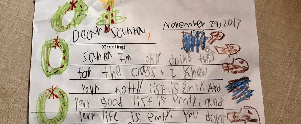 6-Year-Old's Savage Letter to Santa
