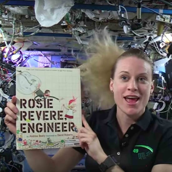 Astronauts Read Children's Books in Space