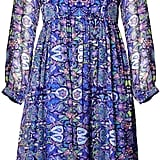 Matthew Williamson Blue Folkloric Floral Boho Dress (£695)