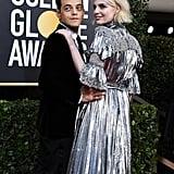 رامي مالك ولوسي بوينتون في حفل جوائز الغولدن غلوب 2020