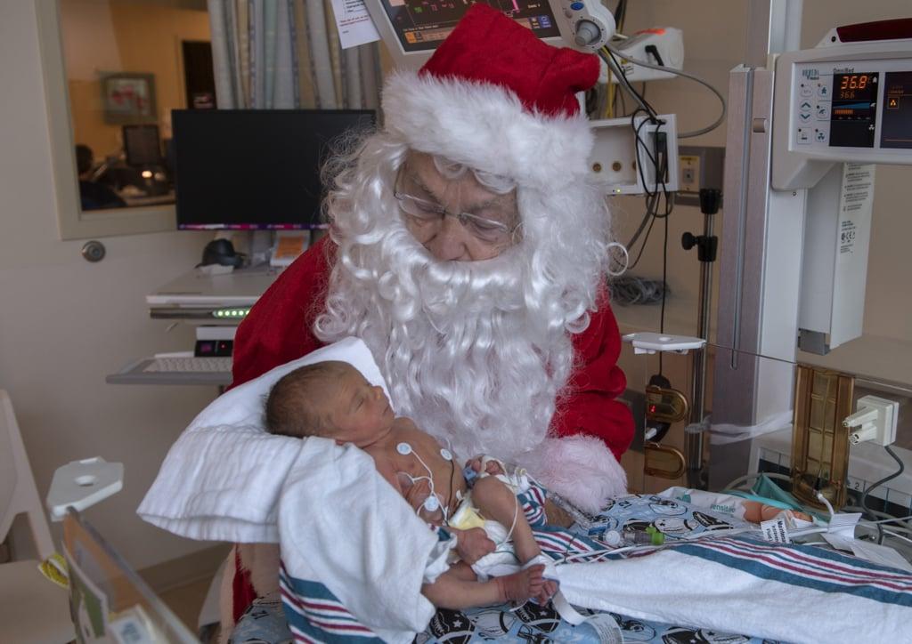 Santa Photos With NICU Babies December 2018