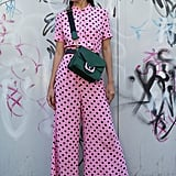 Pink with black polka dots will bring a splash of bright colour to your Summer wardrobe.