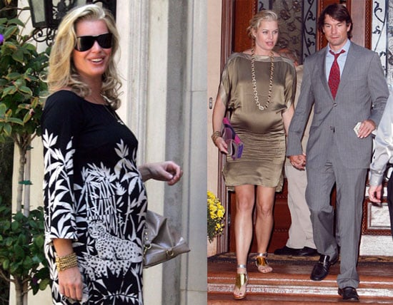 Photos of Pregnant Rebecca Romijn and Jerry O'Connell in Los Angeles