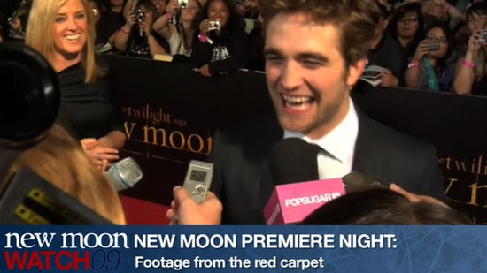 Video From New Moon Premiere