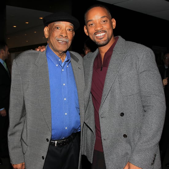 Will Smith and His Dad at a Screening November 2015