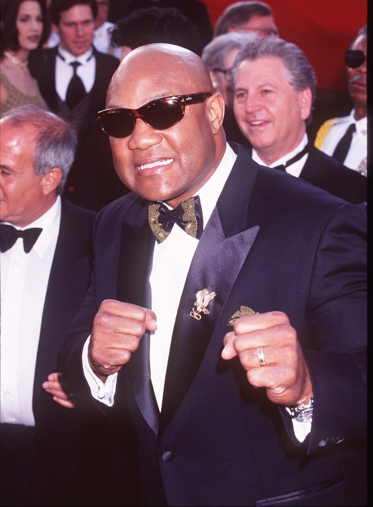 George Foreman Pretended to Punch the Cameras